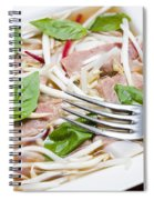 Ready To Serve Bowl Of Pho Bo Spiral Notebook