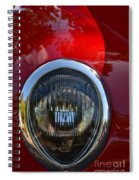 Red Classic Ford Spiral Notebook