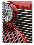 Red Cadillac Spiral Notebook