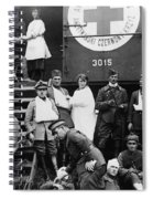 Red Cross, C1918 Spiral Notebook