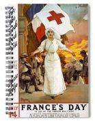 Red Cross Poster, 1915 Spiral Notebook