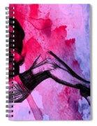 Red Desire Spiral Notebook