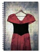 Red Dress Spiral Notebook