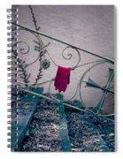 Red Glove Spiral Notebook
