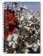 Red In The Cotton  Spiral Notebook