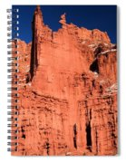 Red Rock Fisher Towers Spiral Notebook