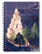 Red Rocks Open Space Spiral Notebook