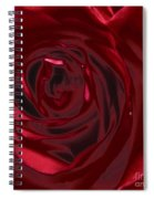 Red Rose Abstract 2 Spiral Notebook