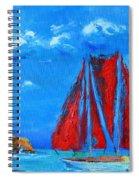 Red Sails Spiral Notebook