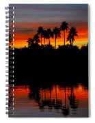 Red Skies  Spiral Notebook