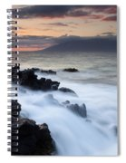 Red Sky Over Lanai Spiral Notebook