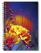 Red Yellow Blossoms 10197 Spiral Notebook