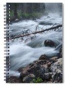 Redfish Creek In Stanley Idaho Spiral Notebook