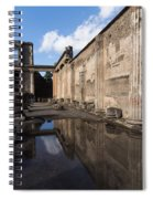 Reflecting On Pompeii Spiral Notebook