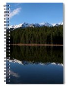 Reflection Bay - Jasper, Alberta - Panorama Spiral Notebook