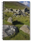 Remains Of Slievemore Village Spiral Notebook