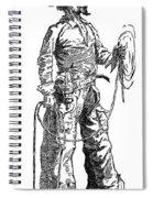 Remington Cowboy, 1887 Spiral Notebook