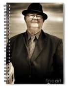 Reminiscing Days Bygone  Spiral Notebook