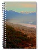 Remote New Zealand Beach Spiral Notebook
