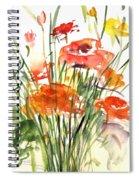 Renoncules Spiral Notebook