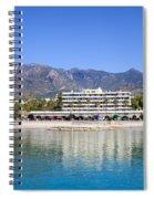 Resort City Of Marbella In Spain Spiral Notebook