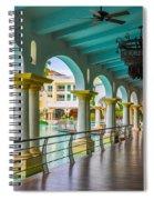 Resort In Dominican Republic Spiral Notebook