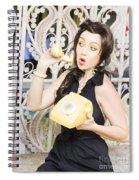 Retro Communication Spiral Notebook