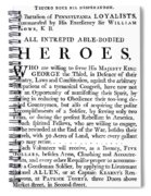 Revolutionary War Poster Spiral Notebook
