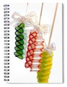 Ribbon Candy Spiral Notebook