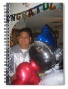 Ricardo Celebrating His High School Graduation Eloy Arizona 2002 Spiral Notebook
