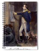 Richard Montgomery Spiral Notebook