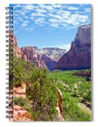 River Through Zion Spiral Notebook