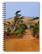 Road On Hierro Spiral Notebook