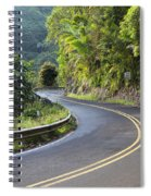 Road To Hana Spiral Notebook