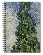 Road With Cypresses Spiral Notebook