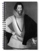 Robert Devereux (1566-1601) Spiral Notebook