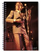 Robert Palmer Spiral Notebook