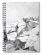 Rocks At Narragansett Spiral Notebook
