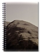 Rocky Hill In The Scottish Highlands Spiral Notebook