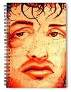 Rocky On Wall Spiral Notebook