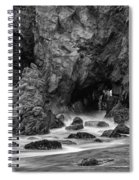 Rocky Surf 2 Spiral Notebook