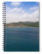Rodney Bay St. Lucia Spiral Notebook