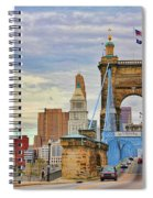 Roebling Bridge 9872 Spiral Notebook