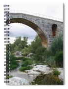 Roman Arch Bridge Pont St. Julien Spiral Notebook