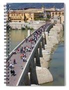 Roman Bridge In Cordoba Spiral Notebook