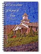 Romans 1 16 Spiral Notebook