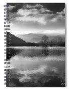 Romantic Lake Spiral Notebook