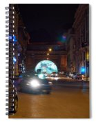 Rome By Night Spiral Notebook