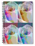 Rose Four Spiral Notebook