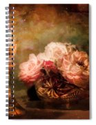 Roses By Candlelight Spiral Notebook
